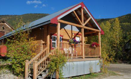 Eco-friendly cabins in deepest Yukon