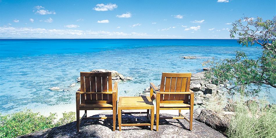 Lizard Island beach chairs