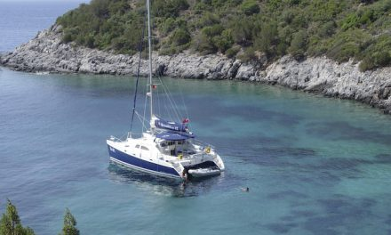 Check out the secrets of Turkey's coast by luxury catamaran