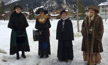 The Belles are ringing in Kandersteg
