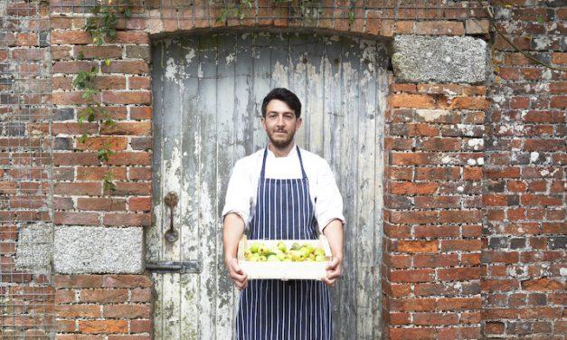New chef, new menu, New Yard Restaurant at Cornwall's Trelowarren