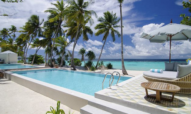 Secluded chic on an unspoiled island paradise