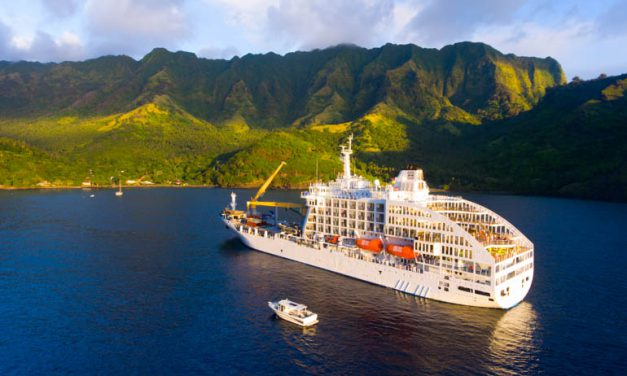 Enjoy Polynesian culture on 'the freighter to paradise'
