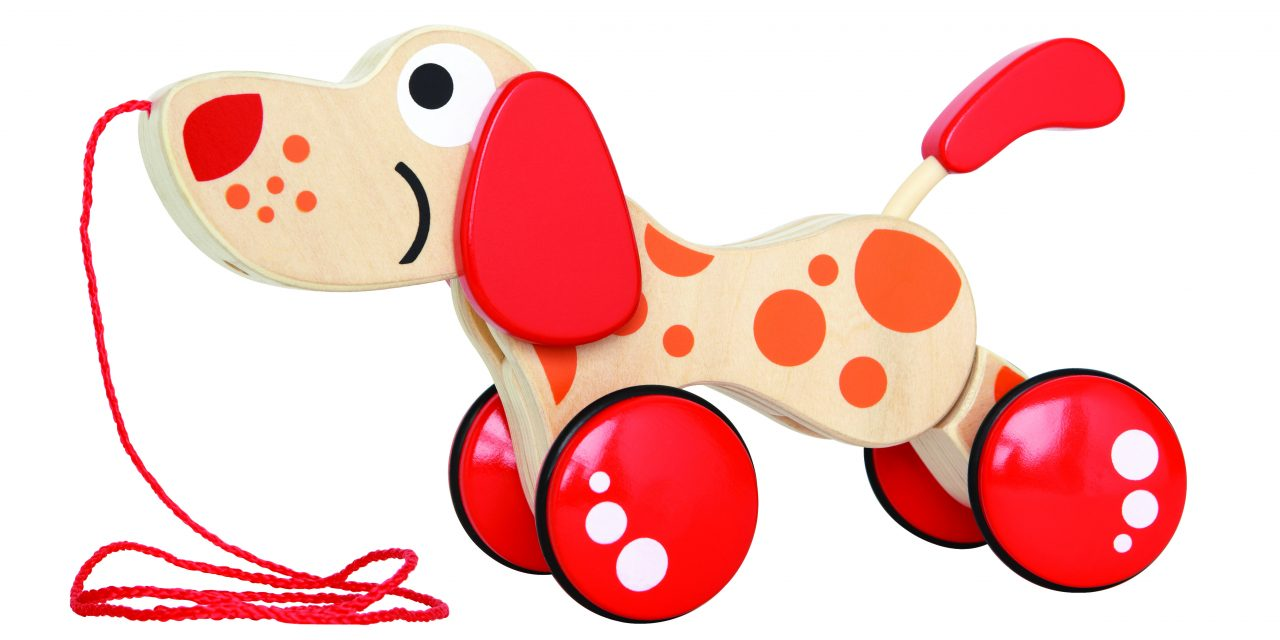 Hape times ahead with the Walk-A-Long Puppy