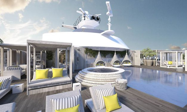 Celebrity Edge leaves the future behind